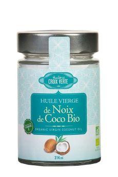 HUILE VIERGE DE NOIX DE COCO - HUILERIE CROIX VERTE