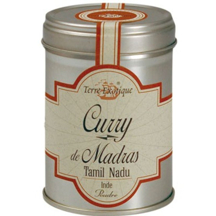Curry de Madras 60g - Terre Exotique
