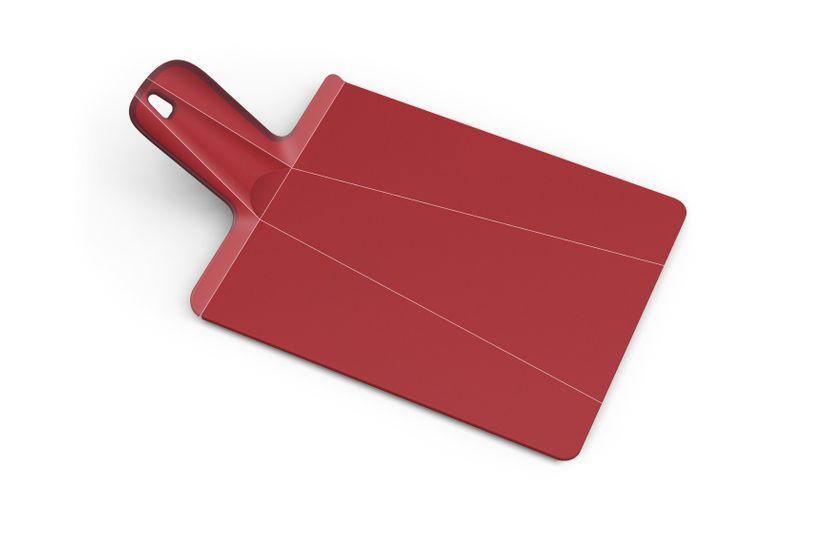 Planche à découper pliable Chop2pot rouge - Joseph Joseph