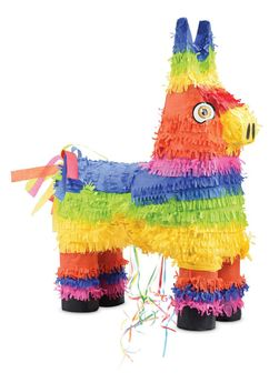 PIÑATA ÂNE MULTICOLORE - SCRAPCOOKING PARTY