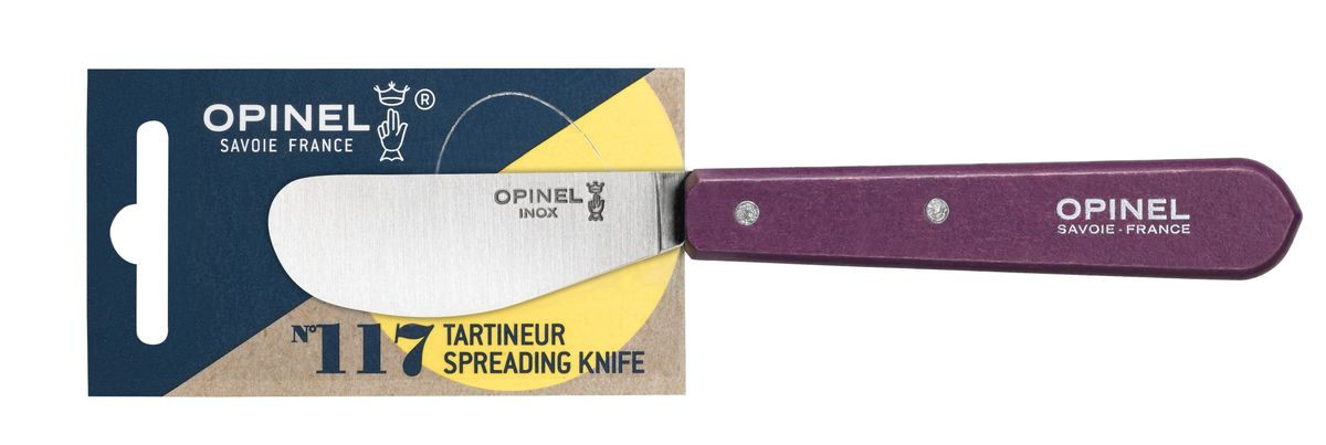 C. TARTINEUR N°117 AUBERGINE - OPINEL