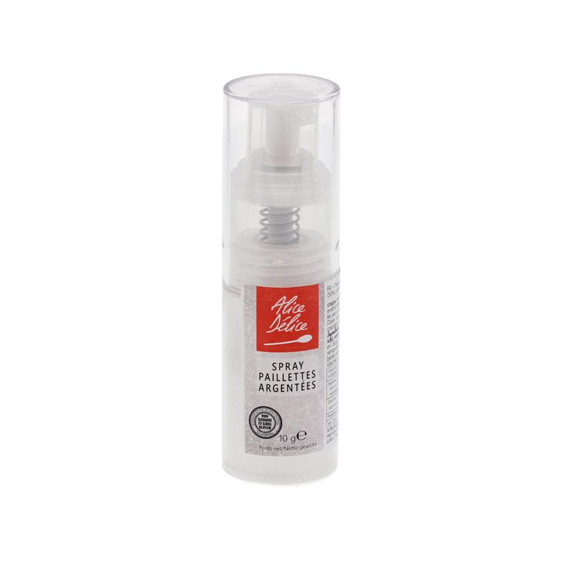 Spray paillettes argent 10g