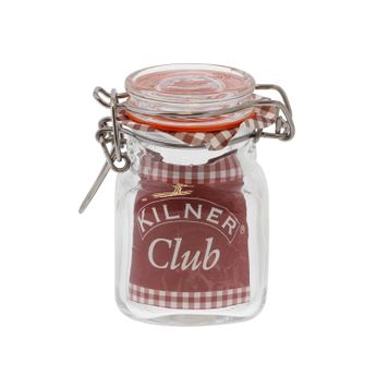 Bocal carré 70ml - Kilner