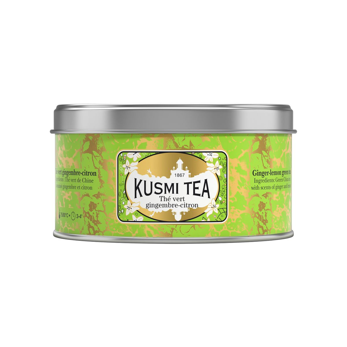 th vert gingembre citron 125g kusmi tea alice d lice. Black Bedroom Furniture Sets. Home Design Ideas