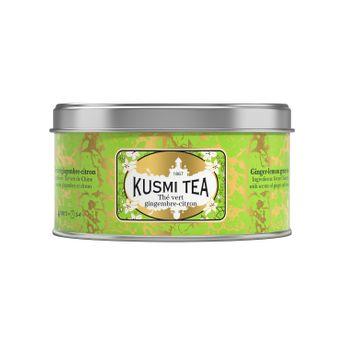 THÉ VERT GINGEMBRE CITRON - 125G - KUSMI TEA
