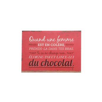 CP FEMME ET CHOCOLAT - ART GRAPHIK