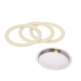 Achat en ligne Pièce de rechange : 3 joints + 1 filtre - Venus 10 tasses - Bialetti