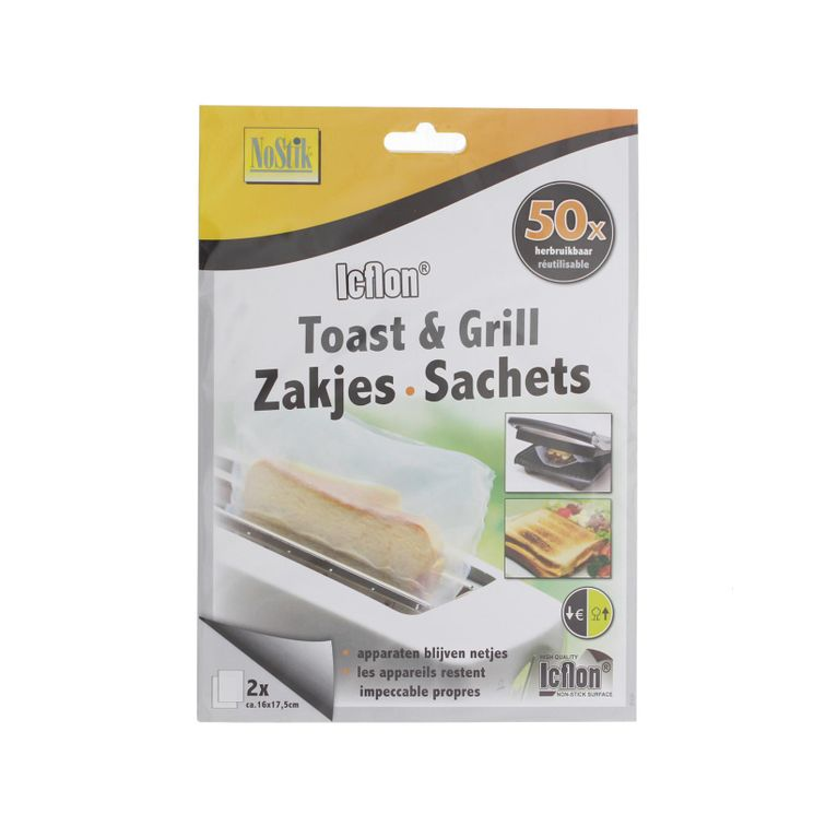 SACHET TOAST IT NO STICK X 2 - CHEVALIER DIFFUSION