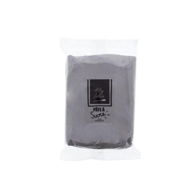 Pâte à sucre grise 250g - Alice Délice