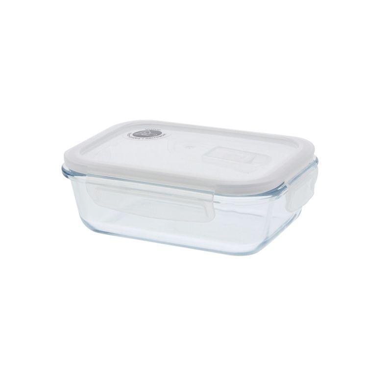 Boîte rectangulaire en verre 650ml - Pebbly