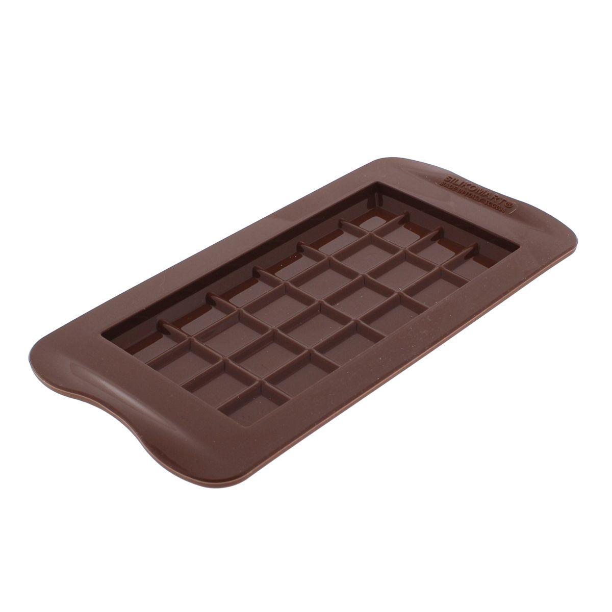 Moule à chocolats en silicone tablette - Silikomart
