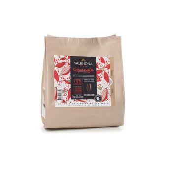 Sac de fèves chocolat noir Guanaja 70% 1 kg - Valrhona