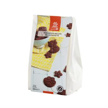 PREPARATION BISCUIT CACAO/NOISETTE 350 GR - ALICE DELICE
