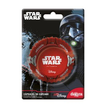 50 CAISSETTES A CUPCAKES - STAR WARS