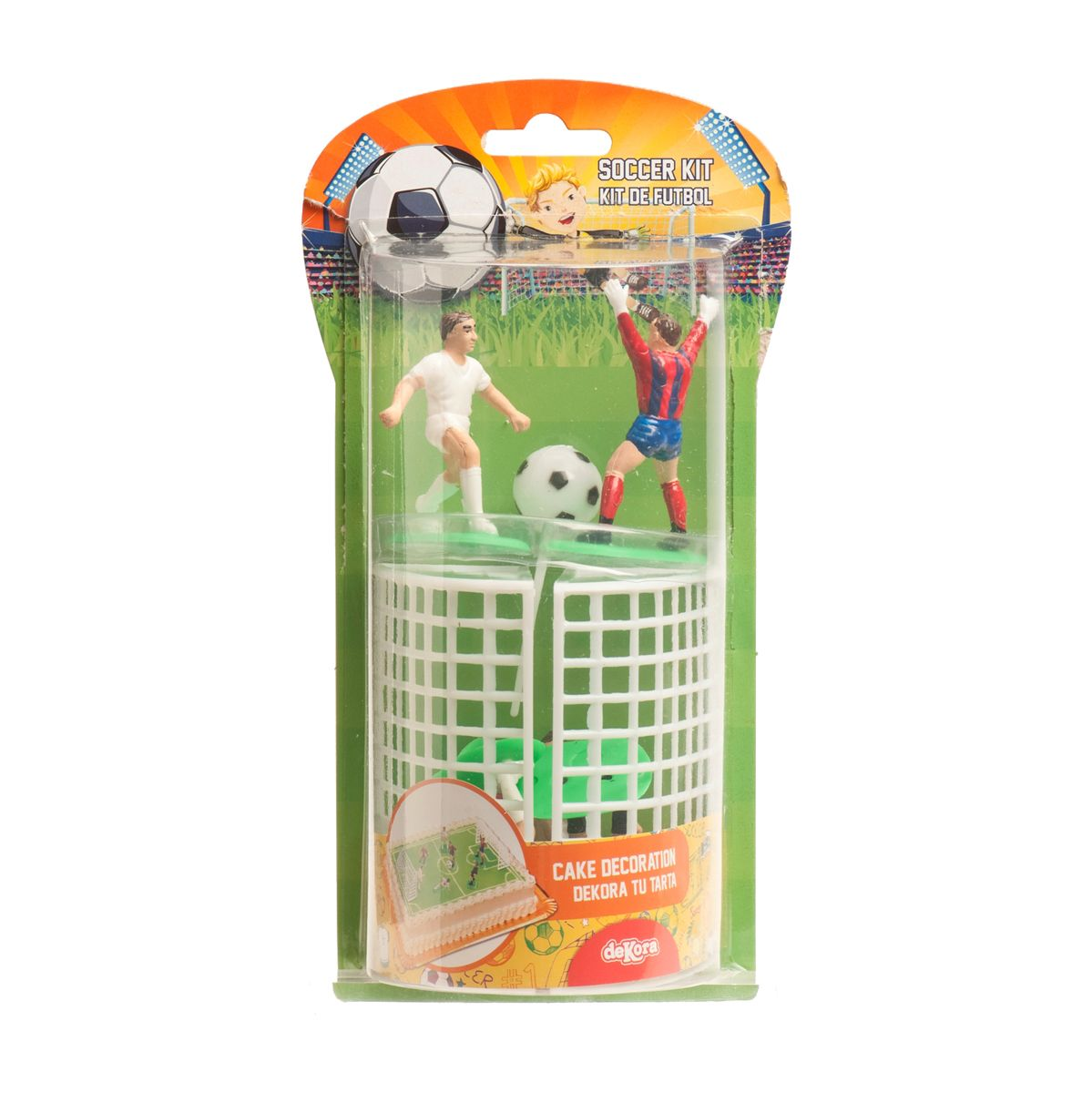 Set décor gâteau - Football - deKora