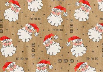 Rouleau papier cadeau joyeux noel noir et or 2m braun company alice d lice - Papier cadeau kraft ...