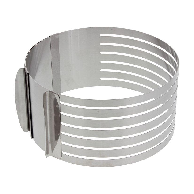 Cercle à génoise extensible 16 à 20 cm - Scrapcooking