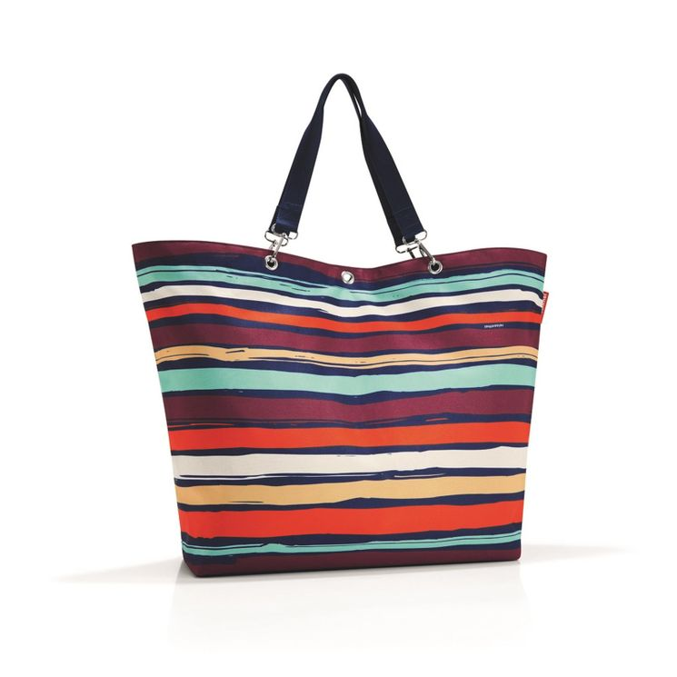 SAC SHOPPER XL ARTIST STRIPES - REISENTHEL