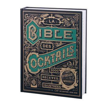 LA BIBLE DES 3000 COCKTAILS - MARABOUT