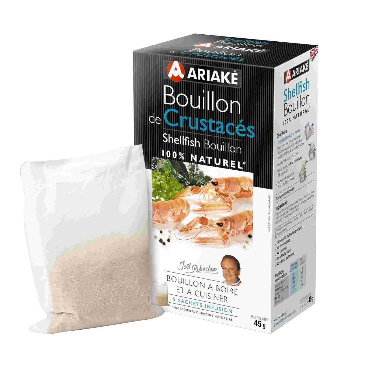 Bouillon de crustacés 45gr - Ariake