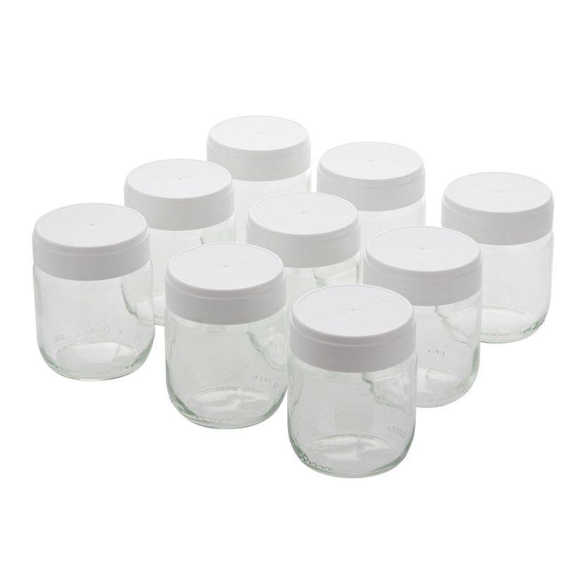 9 pots de yaourts pour yaourtière Ligne - Lagrange
