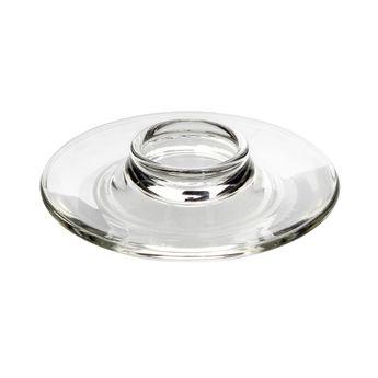 Achat en ligne Coquetier assiette en verre - La Rochère