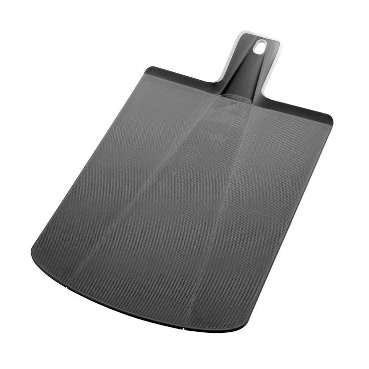 Planche à découper pliable Chop2pot grand modèle noir - Joseph Joseph