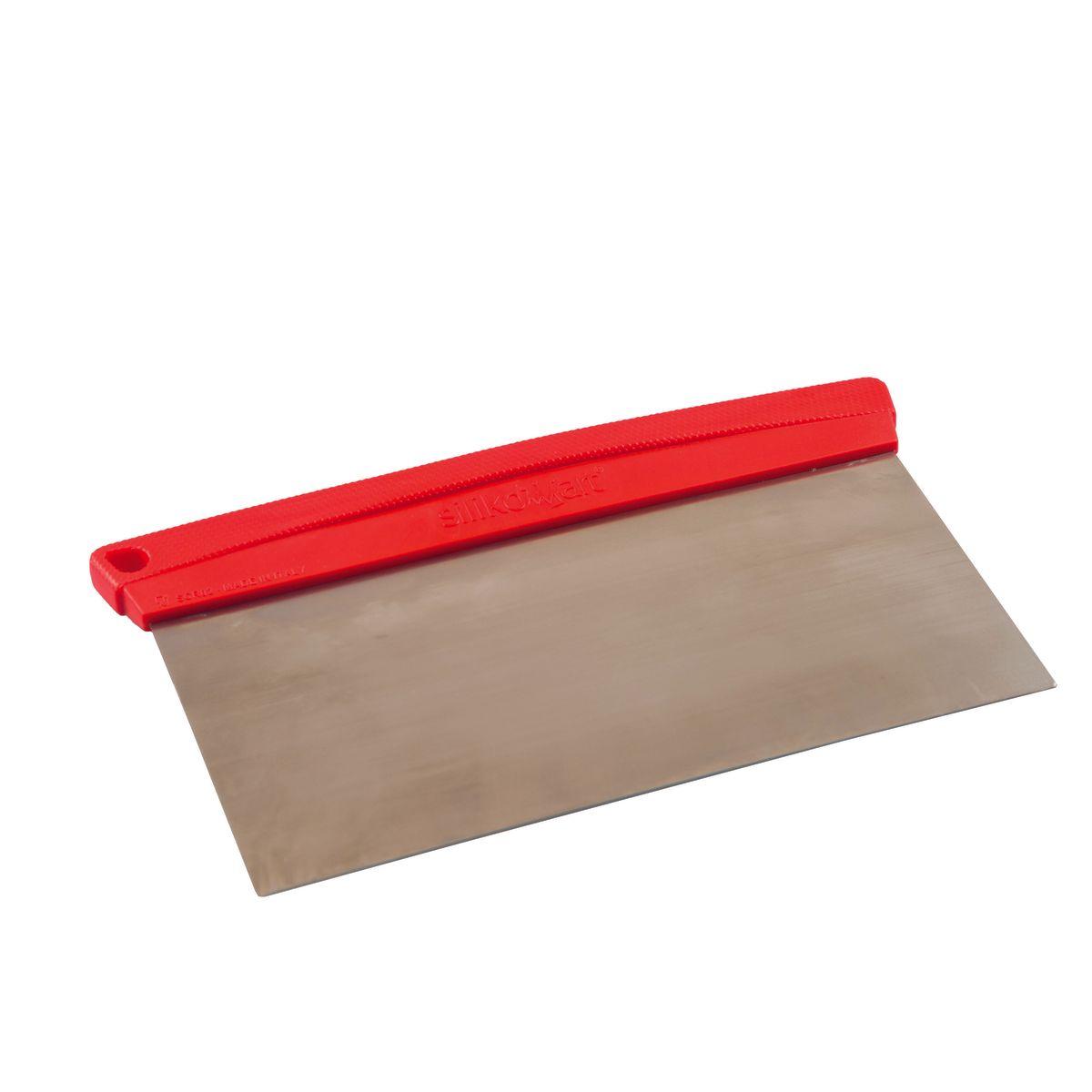 Racloir en acier et plastique rouge 19cm - Silikomart
