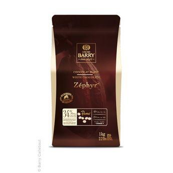 Chocolat blanc zéphyr 1kg - Barry
