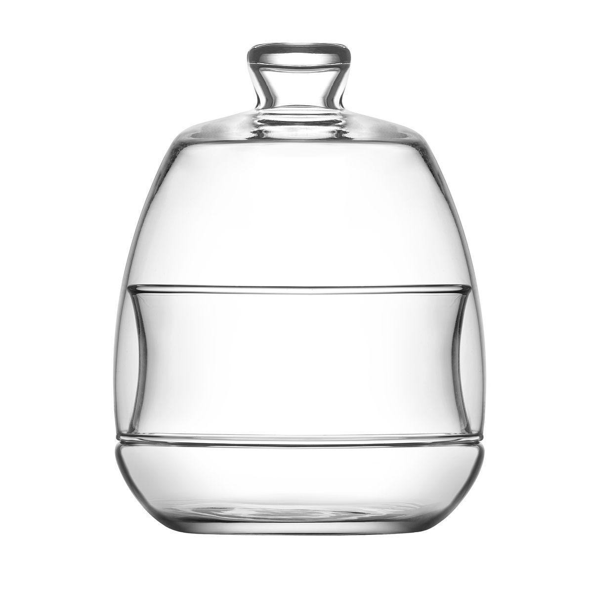 Bonbonnière en verre 0.25L avec cloche - LAV