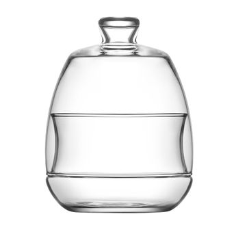 Achat en ligne Bonbonnière en verre 0.25L avec cloche - LAV