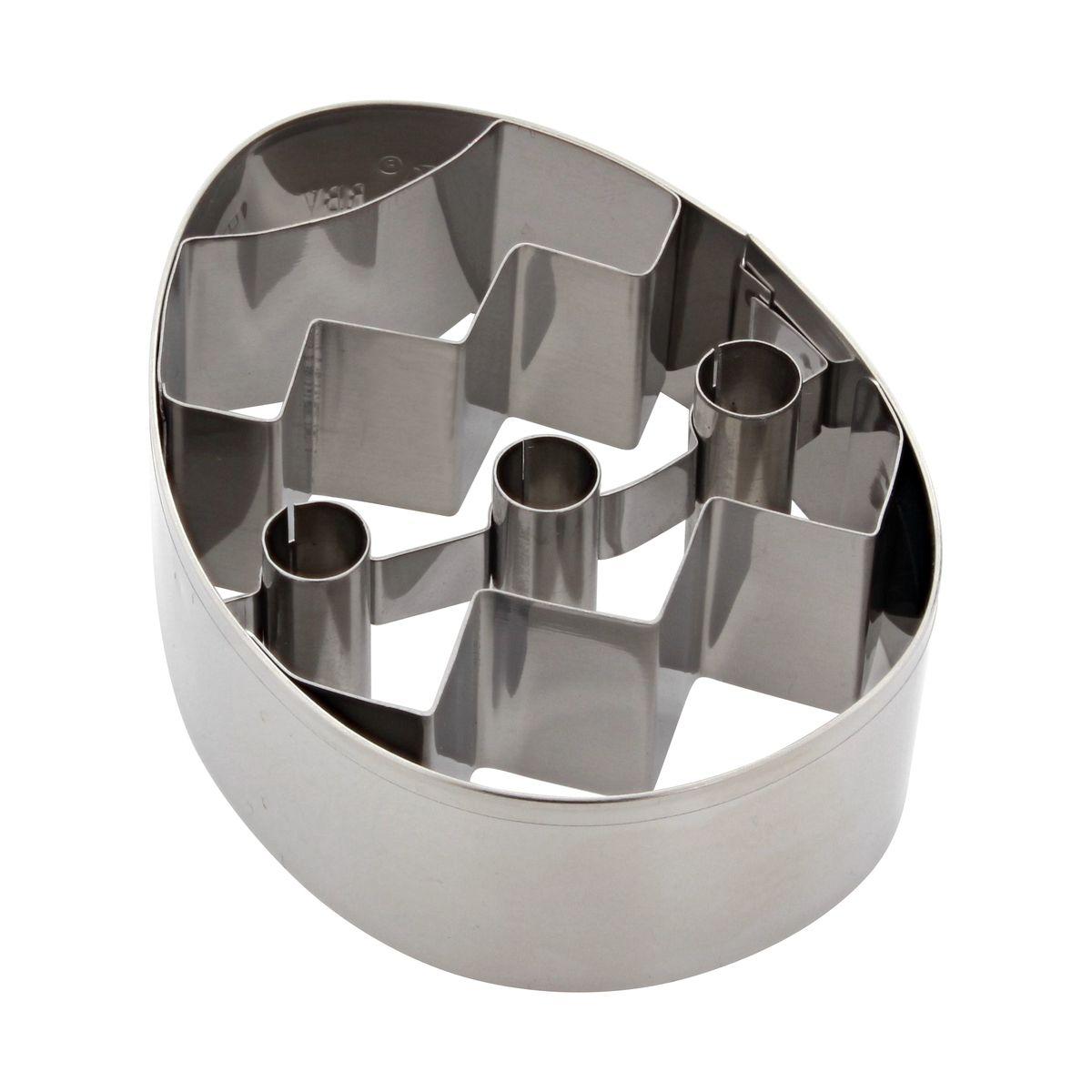 Emporte-pièce œuf décoré 8cm - Birkmann