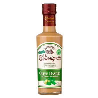 La vinaigrette allégée olive basilic - La Tourangelle