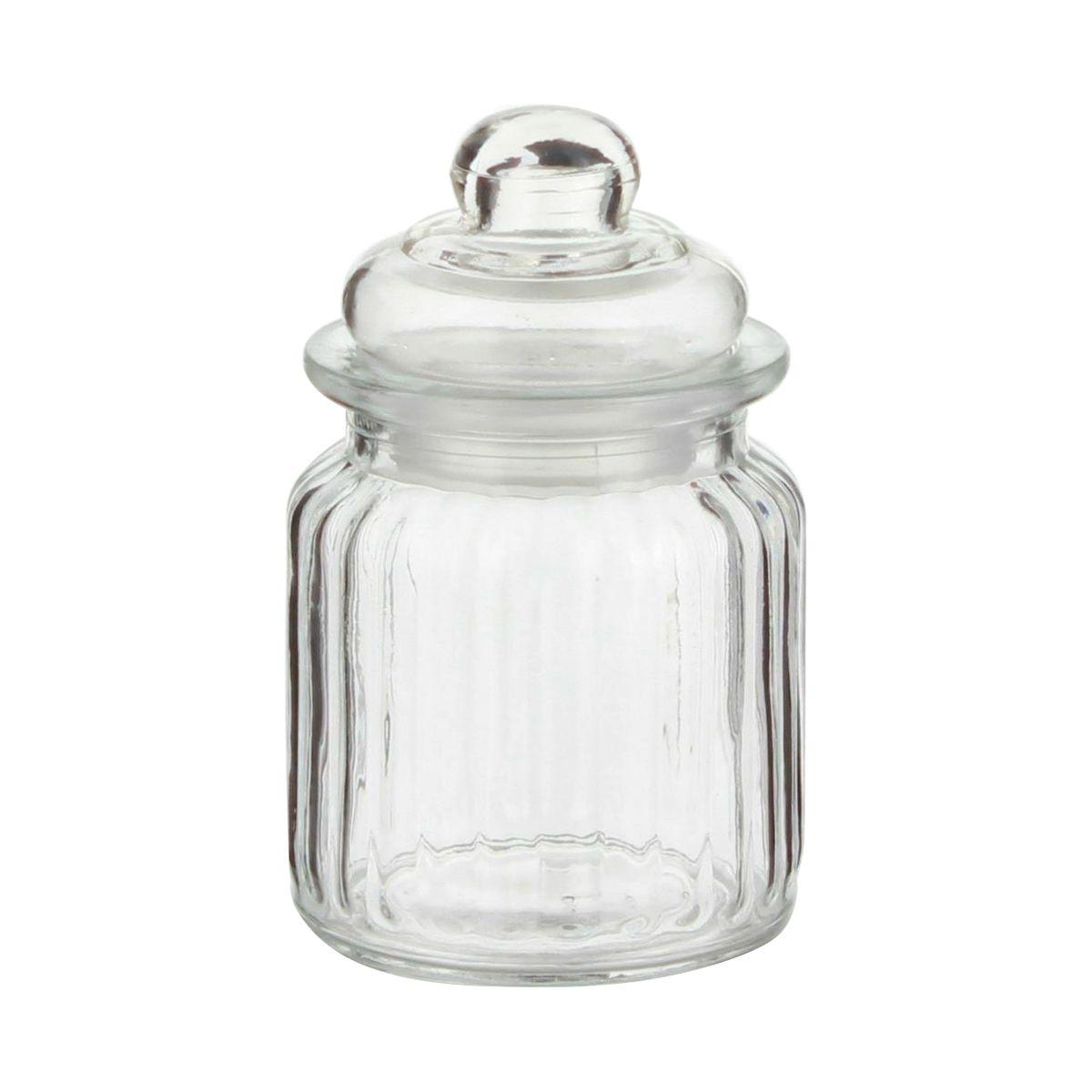 Bonbonnière en verre Nostalgie 0.25L - Zeller