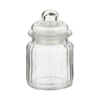 "Bonbonnière en verre ""nostalgie"" 250ml - Zeller"