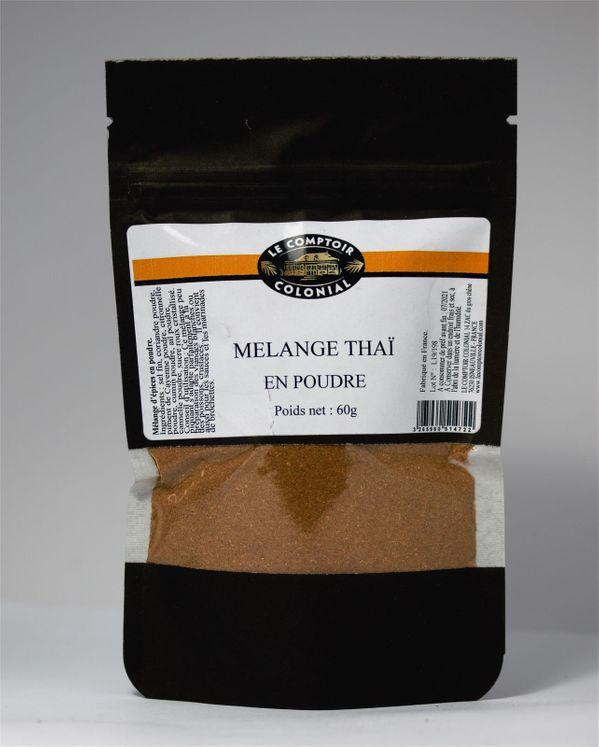 Mélange thaï sachet 60gr - Le comptoir colonial