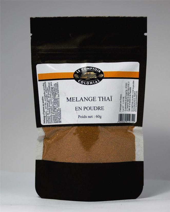 Mélange thaï en poudre 60gr - Le Comptoir Colonial