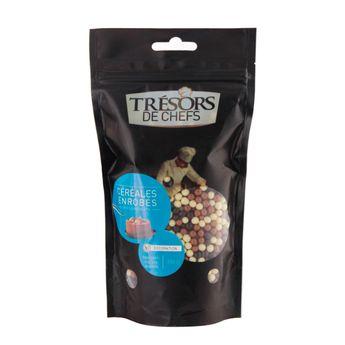 CEREALES ENROBEES 3 CHOCOLAT 250G - TRESORS DE CHEFS