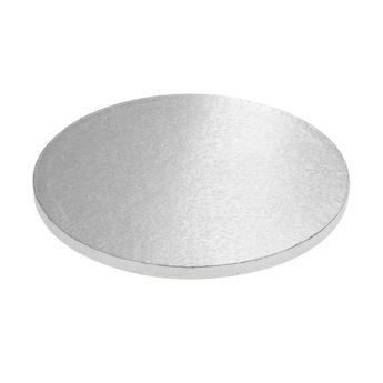Achat en ligne Base gâteau ronde argentée 25cm - Anniversary House