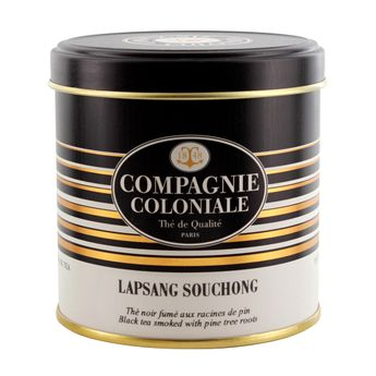 THE NOIR NATURE LAPSANG SUCHONG BOITE METAL   - COMPAGNIE COLONIALE