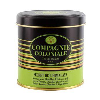 Achat en ligne Thé vert aromatisé boîte métal Secret de l´Himalaya 100gr - Compagnie Coloniale