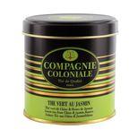 Thé vert aromatisé boîte métal thé vert au jasmin - Compagnie Coloniale