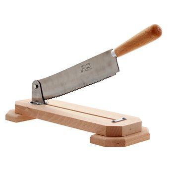 Achat en ligne Coupe-pain mécanique bois de hêtre - Jean Dubost