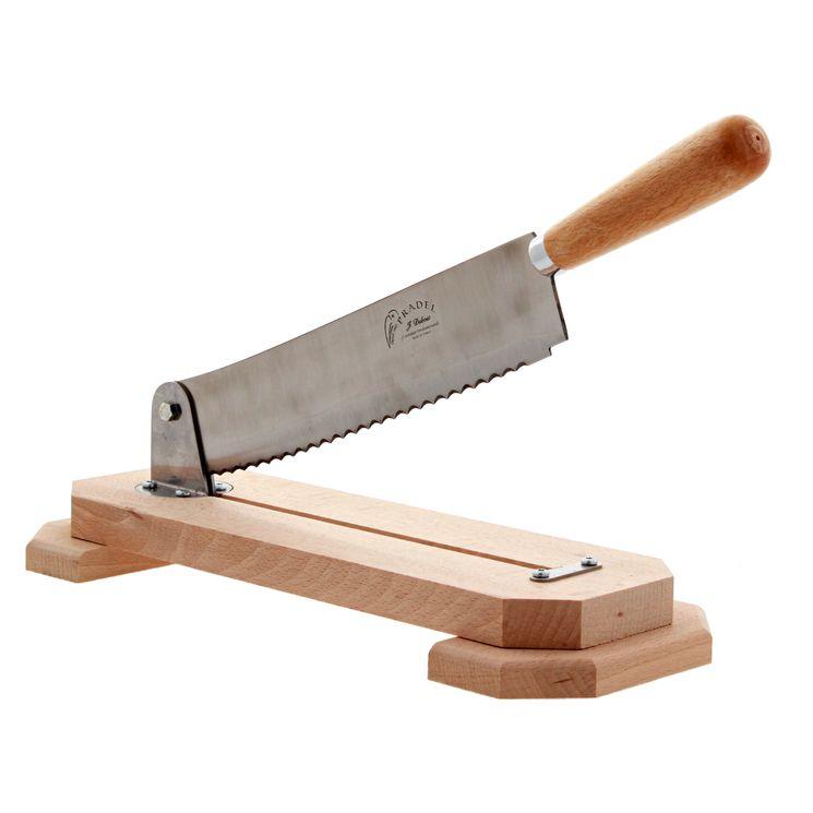 Coupe-pain mécanique bois de hêtre - Jean Dubost Pradel