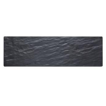 PLANCHE RECTANGULAIRE MELAMINE NOIRE 53X16CM - KITCHEN CRAFT