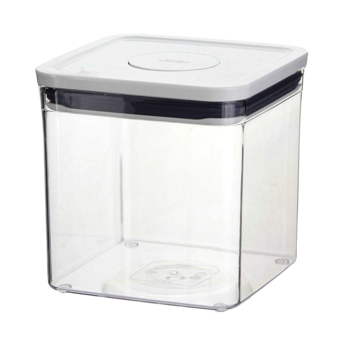 Boîte de conservation Pop 2.0 carrée basse 2.6l - Oxo