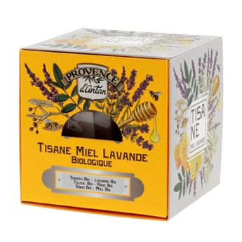 Recharge cube lavande miel bio* 36g - Provence d´Antan