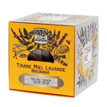 Achat en ligne Recharge tisane bio Lavande miel 36g - Provence d´Antan