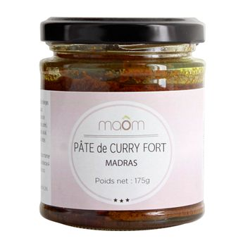 PATE DE CURRY FORT MADRAS - MAOM