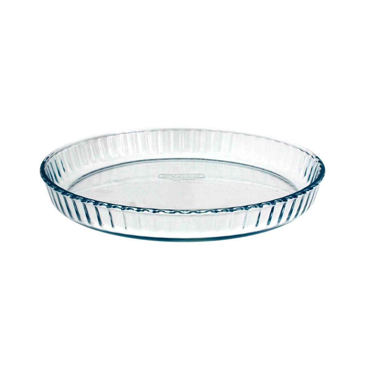 Moule à tarte transparent 28cm - Pyrex